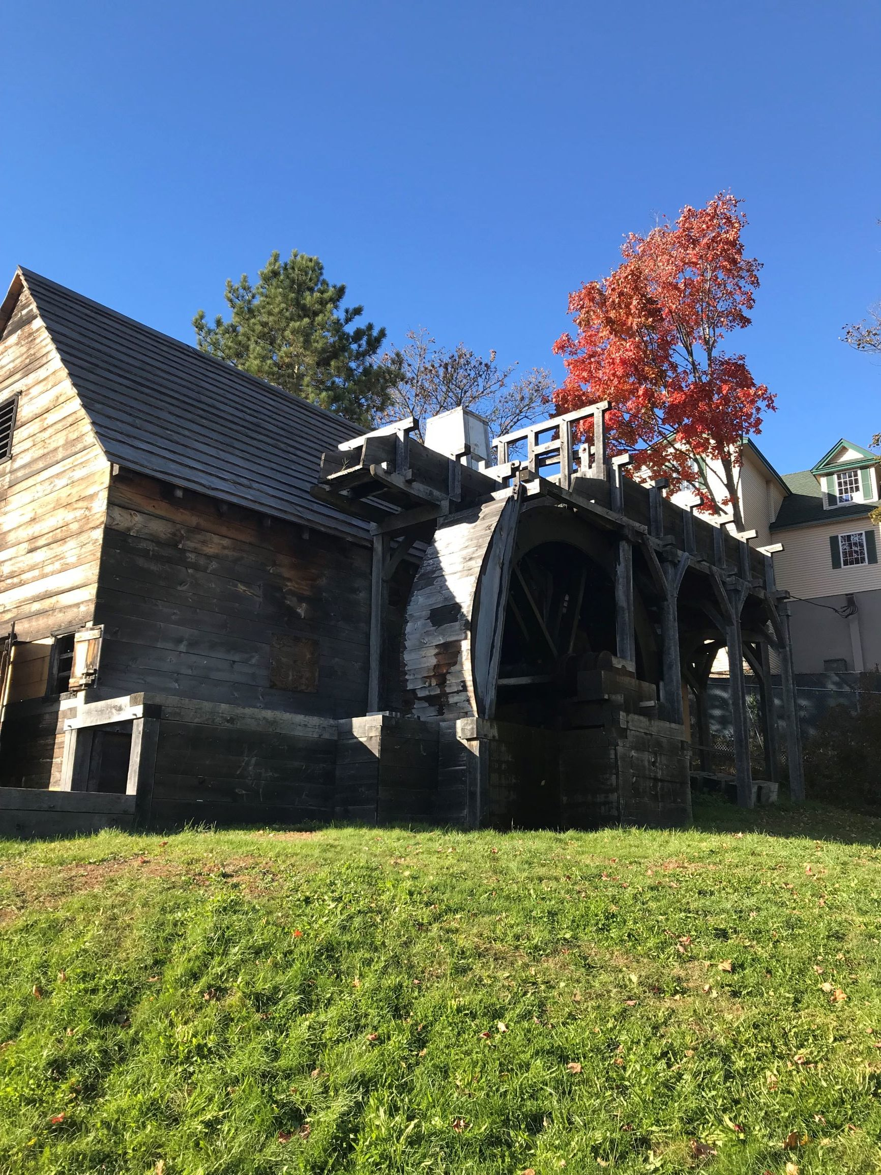 Waterwheel at Saugus Iron Works NHS